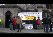 Today Outside The Dail – 6th December 2011