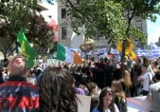 Greek Solidarity in Dublin